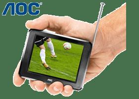 TV LCD Portátil 3,5'' - AOC